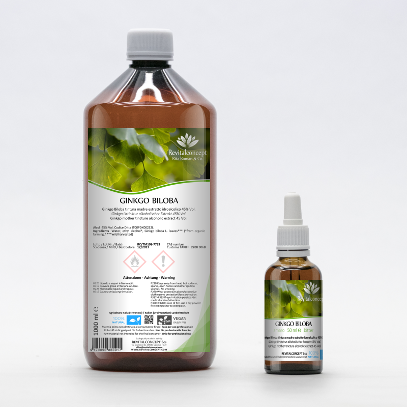 Ginkgo mother tincture alcoholic...