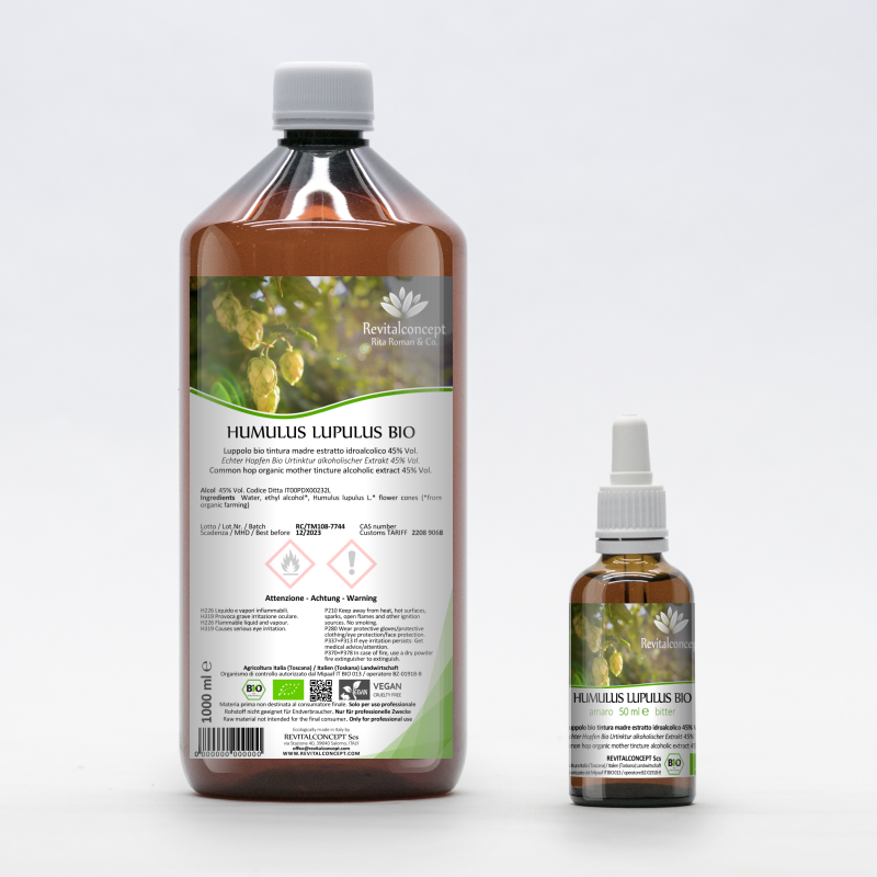 Common hop organic mother tincture...