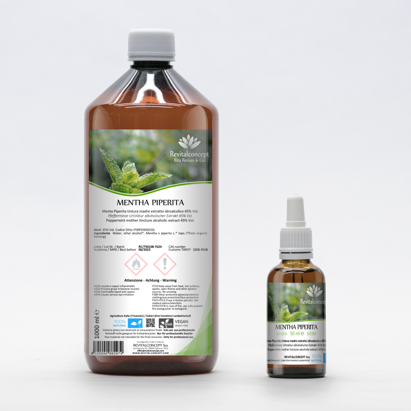 Peppermint mother tincture alcoholic...