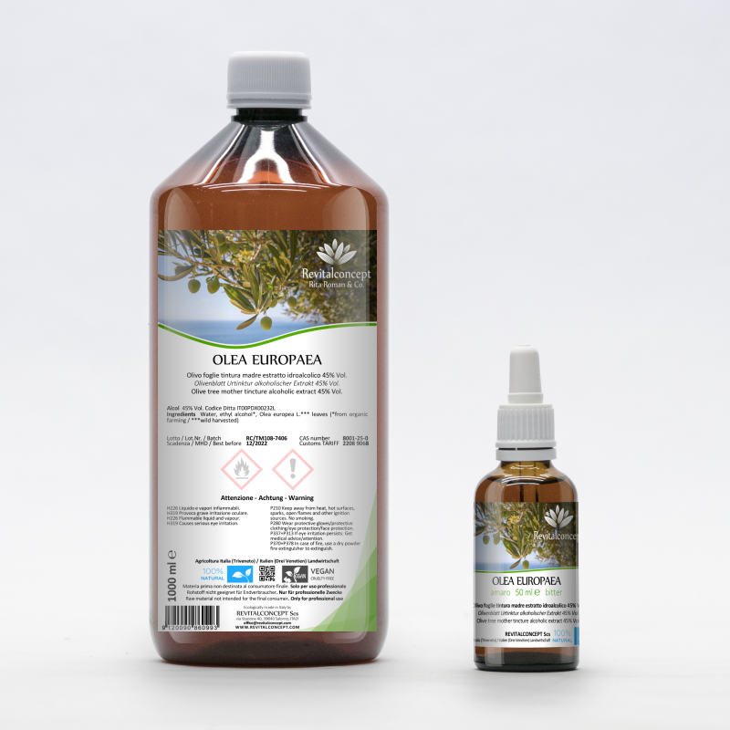Olive leaf tincture alcoholic extract...
